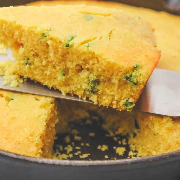 Jalapeno Corn Bread Recipe With Muffin Adaption