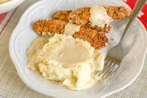 mashed potatoes with garlic recipe
