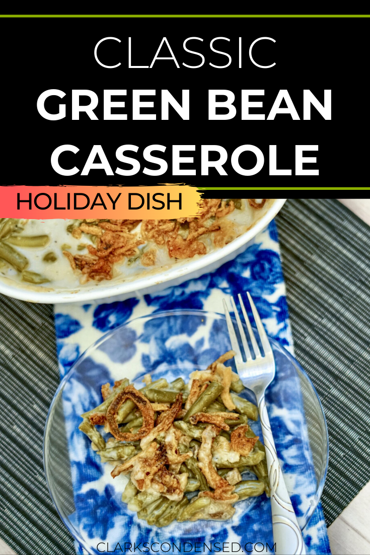 No holiday gathering is complete without a classic green bean casserole recipe. This one is so easy to throw together and sure to be a hit! via @simplysidedishes89