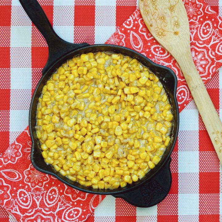 Skillet Creamed Corn