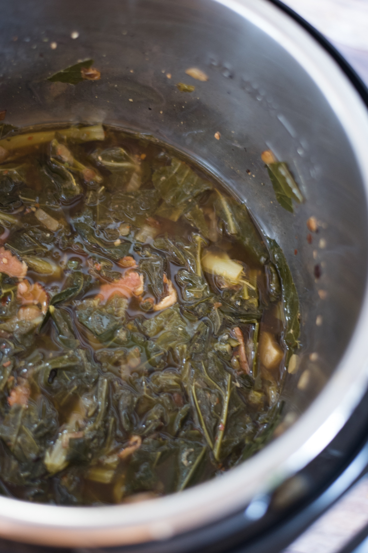 collard greens instant pot