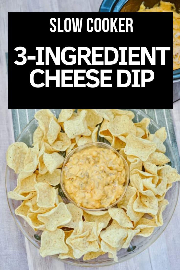 Three Ingredient Crock Pot Sausage Cheese Dip - Aldi inspired cheese dip. via @simplysidedishes89