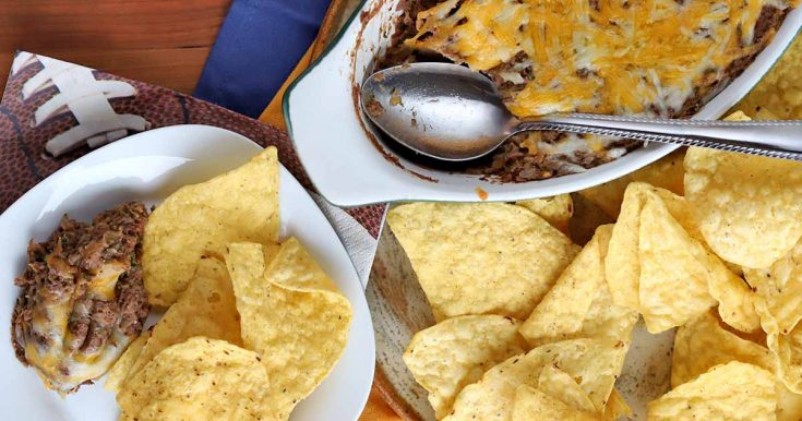 Cheesy Jalapeno Black Bean Dip Is Your New Go-To Easy Appetizer