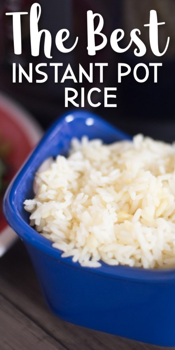 The Best Instant Pot Rice Recipe - this is absolutely delicious and has a secret ingredient! via @simplysidedishes89