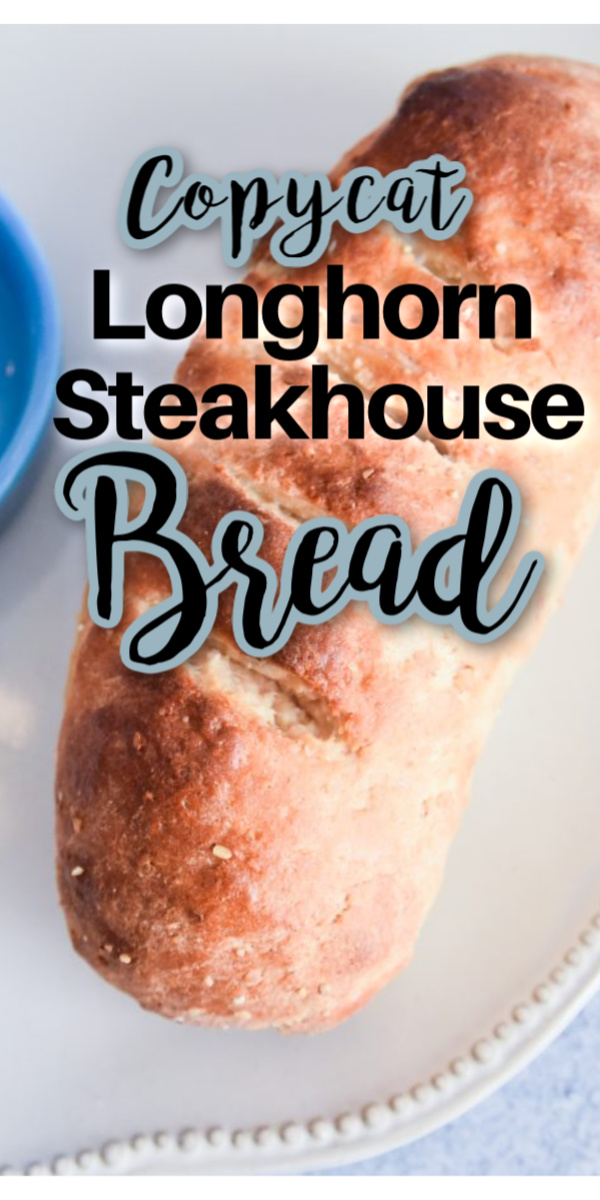 This copycat Longhorn Steakhouse Bread is so easy and delicious! It tastes just like the popular restuarant's bread. It's a half white/half wheat bread recipe with multigrains. via @simplysidedishes89