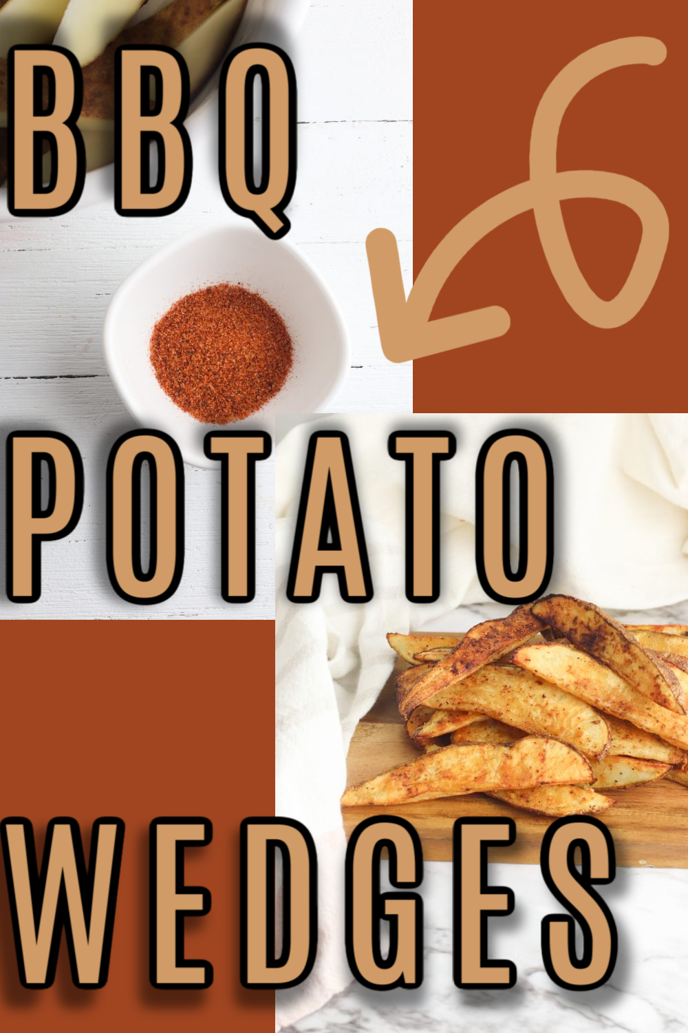 Perfectly seasoned BBQ Potato Wedges turn regular potatoes into something special. With a crispy outside and creamy inside, these easy-to-make Barbecued Wedges are a fan favorite. via @simplysidedishes89
