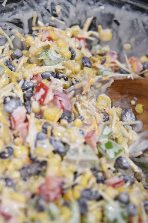 frito corn salad mixed together