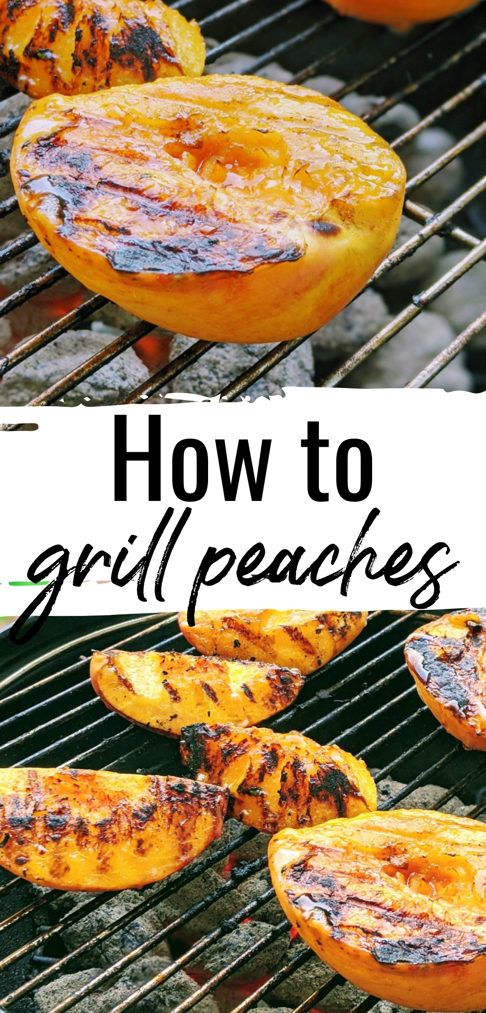 How to Make the Best Grilled Peaches via @simplysidedishes89