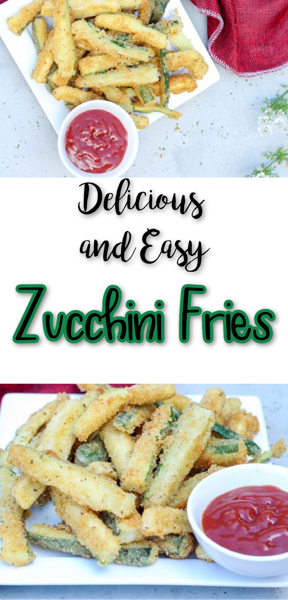 Zucchini Fries via @simplysidedishes89