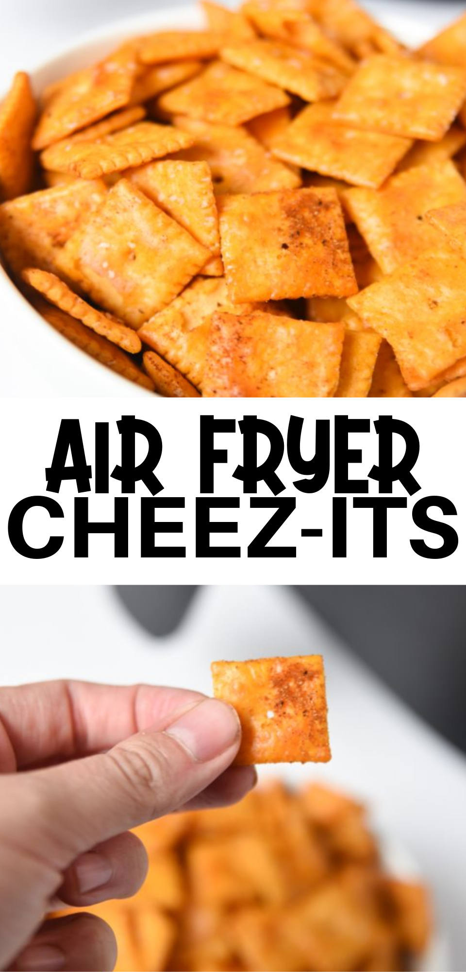 In just a few minutes, your Cheez-it snacks can taste like your favorite seasoning! You won't be able to stop eating this irresistible Air Fryer snack via @simplysidedishes89