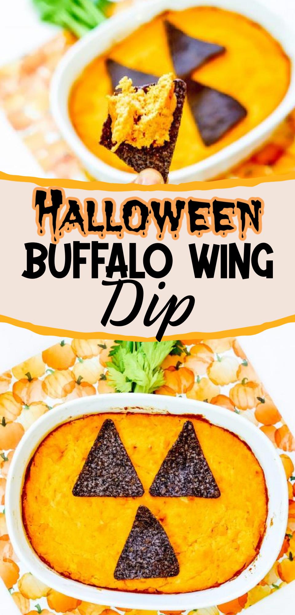 halloween buffalo dip