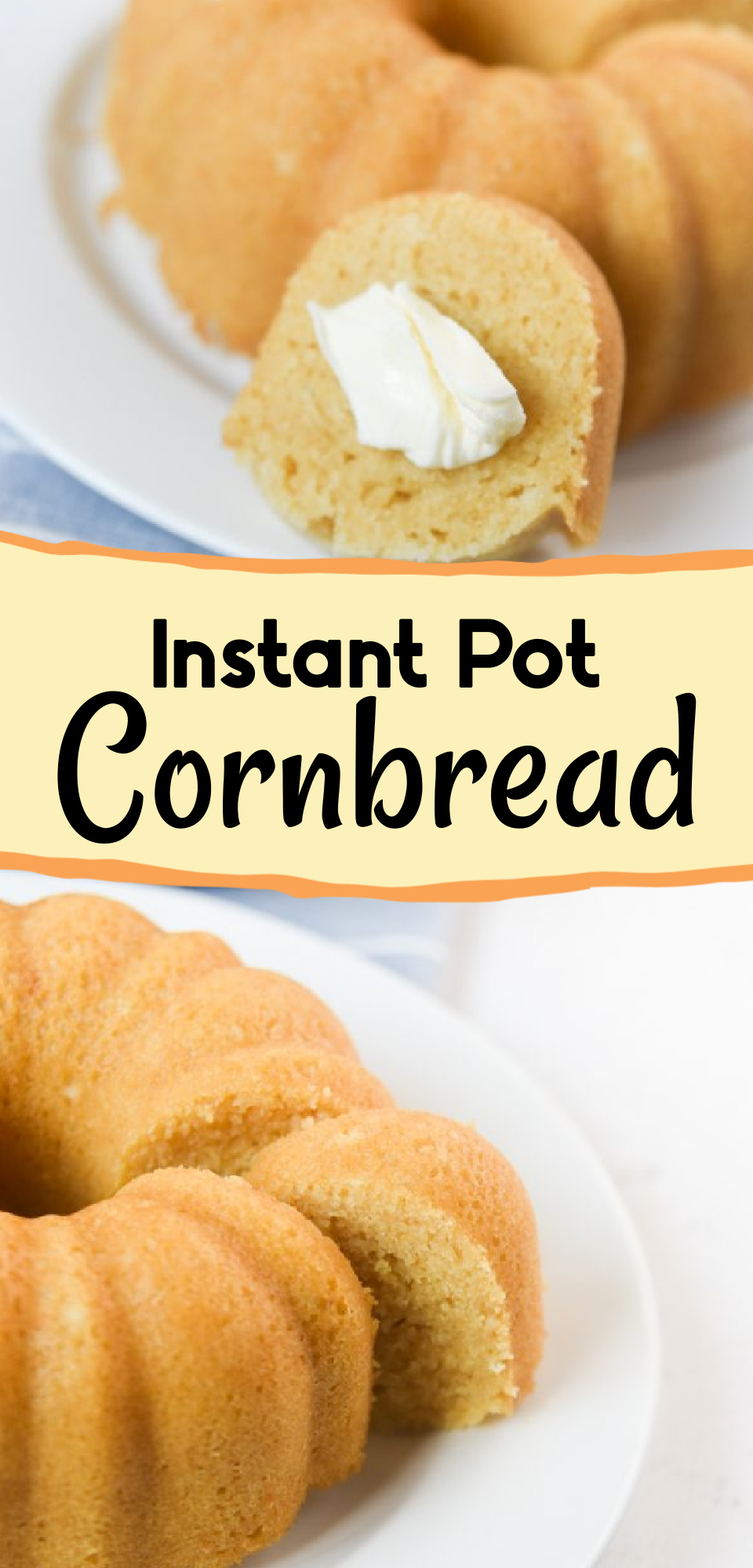 Did you know you can make moist buttermilk cornbread in an Instant Pot? It's the perfect side dish that complements ANY home-cooked meal. You'll love this Instant Pot Cornbread recipe! via @simplysidedishes89