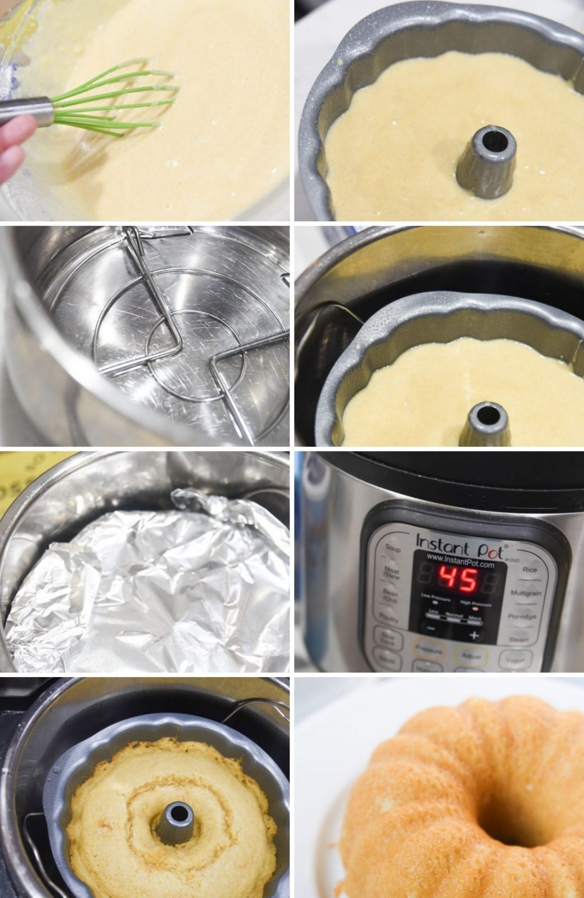 instructions for instant pot corn bread