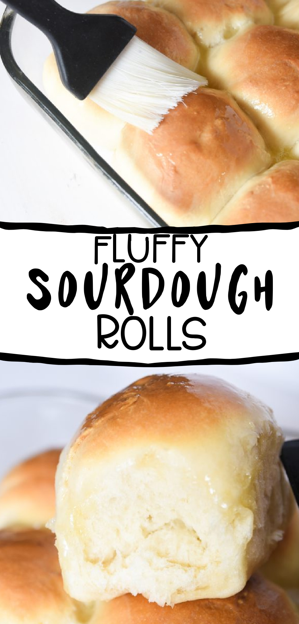 These easy homemade sourdough rolls are a great way to use your sourdough starter. They are a very fluffy roll with a mild sourdough taste that everyone will love. via @simplysidedishes89