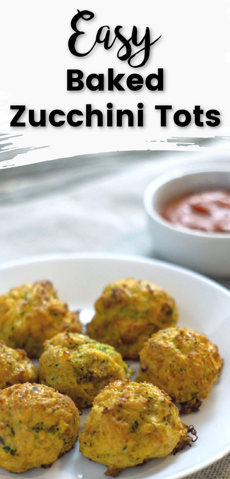 Zucchini Tots are a delicious alternative to Tater Tots and a great way to get your family to eat their veggies! These bite-sized tots are made of zucchini and cheese and make an amazing side dish! via @simplysidedishes89