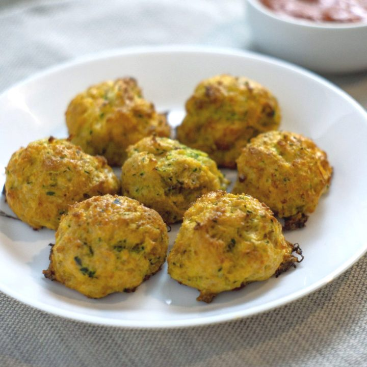 Baked Zucchini Tots