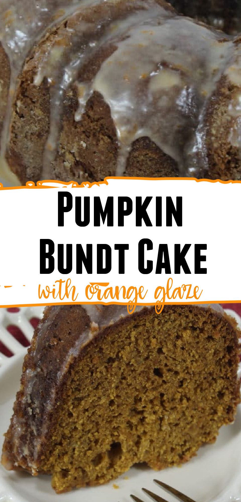 This easy pumpkin bundt cake recipe just screams fall to me. Put some orange glaze on the cake to make it the perfect fall dessert. Orange glazed pumpkin cake will satisfy your whole family. via @simplysidedishes89
