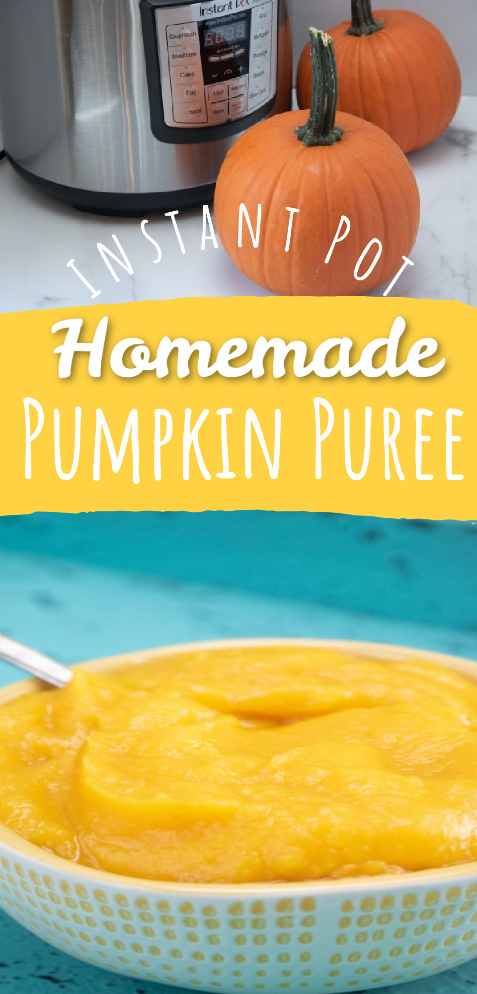 Fresh pumpkin puree is a must-have for fall! This easy pumpkin puree recipe can be added to any recipes that require pumpkin and it is so much better than the canned ones. Try this quick instant pot pumpkin puree recipe out! via @simplysidedishes89