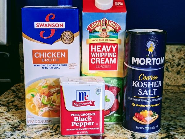 turkey gravy ingredients