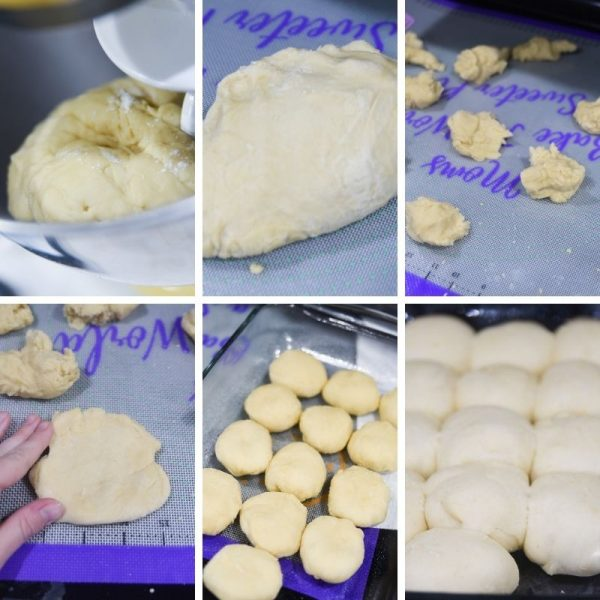 yeast dinner rolls step by step