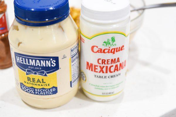mayo and creama mexicana