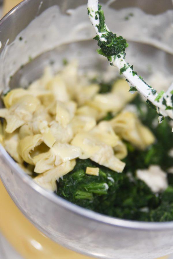 spinach and artichoke