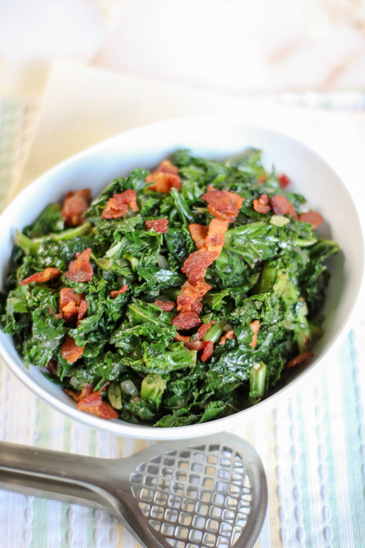 bacon kale recipe