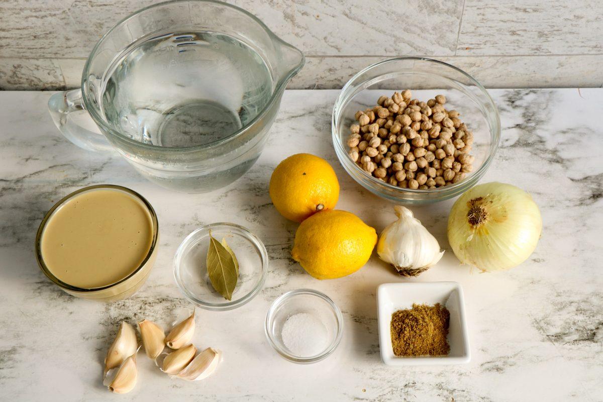 instant pot hummus ingredients