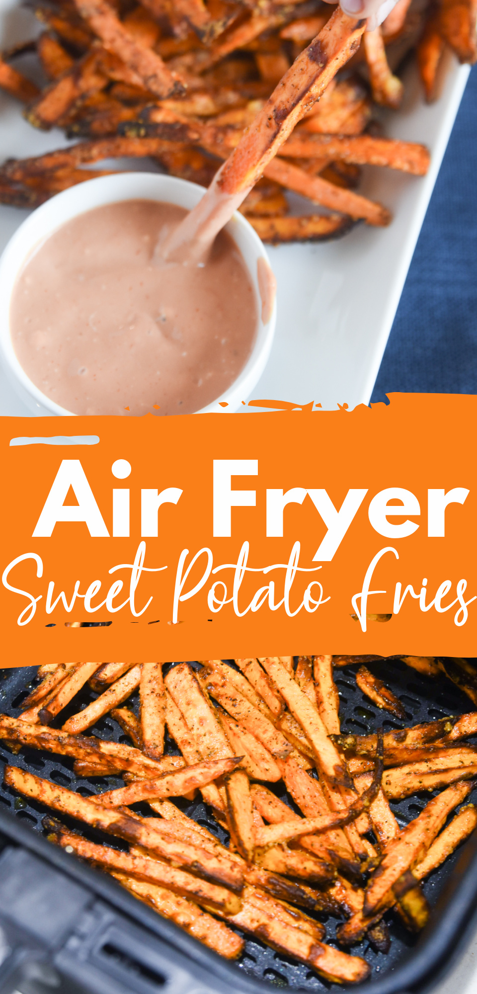 Looking for a lighter version of traditional deep-fried sweet potato fries? Now you can make delicious, crispy, and healthy sweet potato fries in an air fryer! via @simplysidedishes89