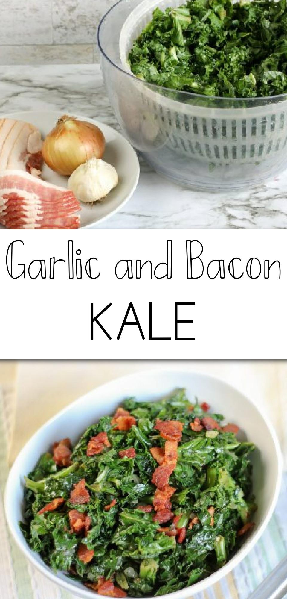 Do you know what's better than bacon? Bacon AND garlic AND kale (can I get a kale yeah!?). This bacon kale recipe is one of the best ways to eat kale. And with all of the added benefits of kale (plus kale nutrients), you don't have to feel bad about eating this delicious recipe. via @simplysidedishes89