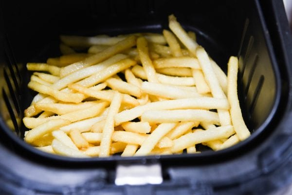 pommes frites in air fryer