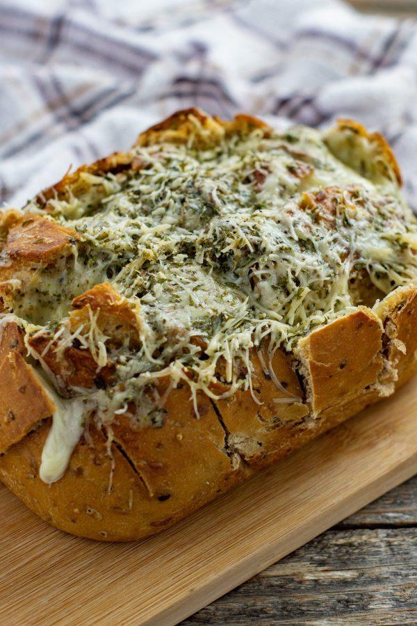 cheesy pull apart bread
